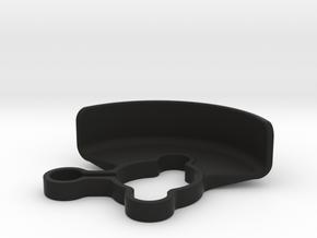 2487 - XRAY XB2 3-GEAR LAYDOWN GEAR SHIELD in Black Strong & Flexible