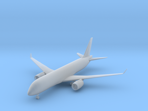 Bombardier CS300 - 1:500 scale in Frosted Ultra Detail