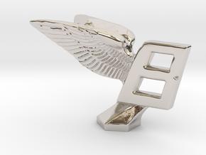 Hood Ornament for Bentley in Platinum