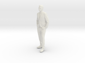 Printle C Homme 005 - 1/43 - wob in White Strong & Flexible