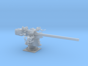 1/48 UBoot 8.8 cm SK C/35 Naval Deck Gun in Smooth Fine Detail Plastic