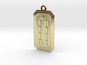 OSAOGUNDA in 18k Gold Plated Brass