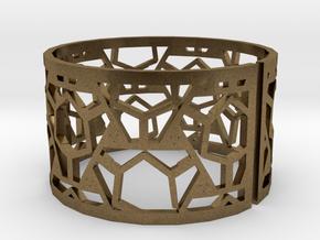 Bracelet AQ (2) in Natural Bronze