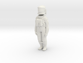 2001 Astronaut Storage Position in White Strong & Flexible: 1:24