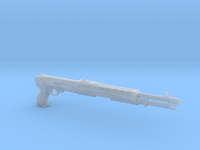 SPAS 12 1:4 scale shotgun without pump in Frosted Ultra Detail