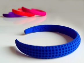 Voilà Cuff in Blue Strong & Flexible Polished: Medium