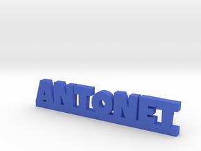 ANTONET Lucky in Blue Processed Versatile Plastic