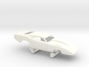 1/32 69 Daytona Pro Mod Smooth Door in White Processed Versatile Plastic