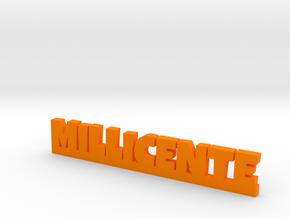MILLICENTE Lucky in Orange Processed Versatile Plastic