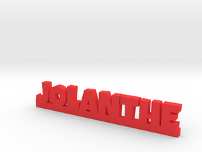 JOLANTHE Lucky in Red Processed Versatile Plastic