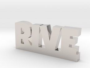 RIVE Lucky in Rhodium Plated Brass