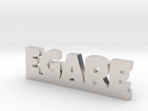 EGARE Lucky in Rhodium Plated Brass
