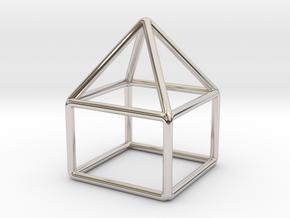 House Pendant in Platinum