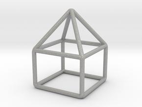 House Pendant in Aluminum