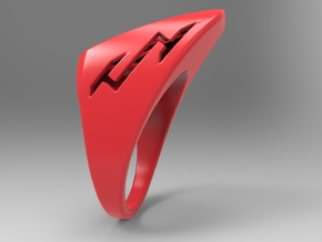 Speedy Ring Pl in Red Strong & Flexible Polished: 10 / 61.5