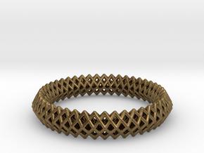 Bracelet TT (2) in Natural Bronze
