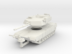 MG160-US01 M1 MBT in White Natural Versatile Plastic