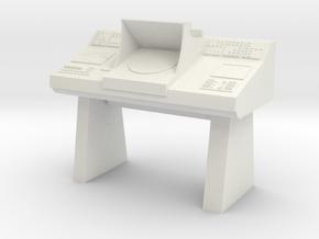 Transporter Console (Star Trek Classic), 1/9 in White Natural Versatile Plastic