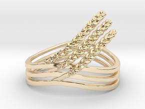 Rye Ring in 14K Yellow Gold