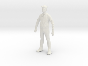 Printle C Homme 006 - 1/56 - wob in White Natural Versatile Plastic