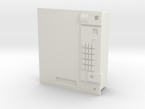Cigarette vending machine / Zigarettenautomat in White Natural Versatile Plastic: 1:87 - HO
