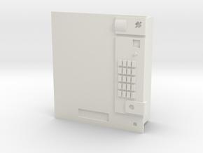 Cigarette vending machine / Zigarettenautomat in White Natural Versatile Plastic: 1:120 - TT