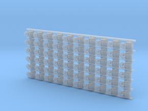 ø2.4mm Valves 60pc in Smooth Fine Detail Plastic