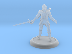 Human Bard in Smooth Fine Detail Plastic