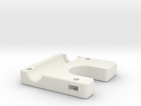Ultimake Adapter Bottom Block in White Strong & Flexible