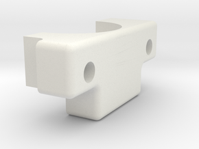 Ultimaker Adaptor Clamp in White Natural Versatile Plastic