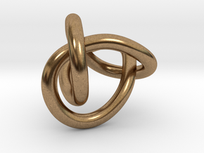Figure 8 Knot in Natural Brass