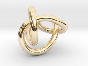 Figure 8 Knot in 14K Yellow Gold