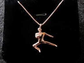 Pendant - Yeop Chagi in 14k Rose Gold Plated