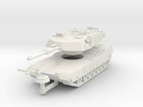 MG160-US01A M1A1 MBT in White Strong & Flexible