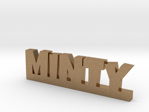 MINTY Lucky in Natural Brass