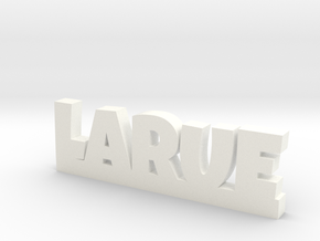 LARUE Lucky in White Processed Versatile Plastic