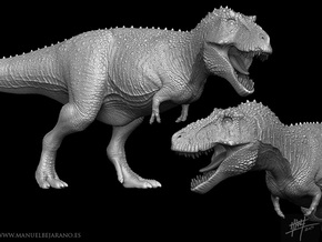 Tyrannosaurus Rex 'Sue' 1/40 in White Strong & Flexible