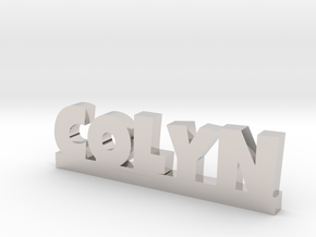 COLYN Lucky in Rhodium Plated Brass