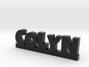 COLYN Lucky in Black Hi-Def Acrylate