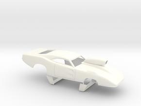 1/32 69 Daytona Pro Mod W Vents W Scoop in White Processed Versatile Plastic