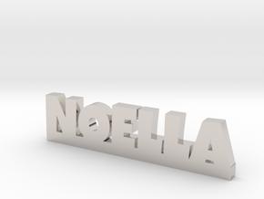 NOELLA Lucky in Rhodium Plated Brass