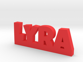 LYRA Lucky in Red Processed Versatile Plastic