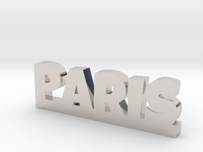 PARIS Lucky in Rhodium Plated Brass