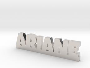ARIANE Lucky in Rhodium Plated Brass