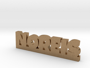 NOREIS Lucky in Natural Brass
