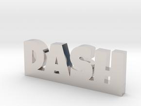 DASH Lucky in Rhodium Plated Brass