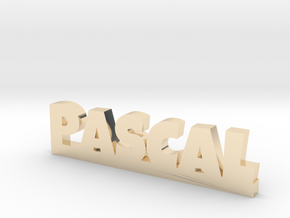 PASCAL Lucky in 14k Gold Plated Brass