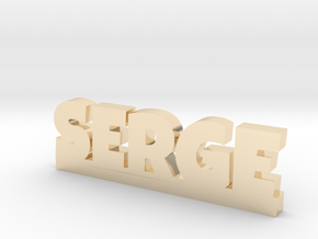 SERGE Lucky in 14k Gold Plated Brass
