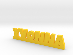 YVONNA Lucky in Yellow Processed Versatile Plastic