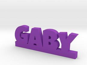 GABY Lucky in Purple Processed Versatile Plastic